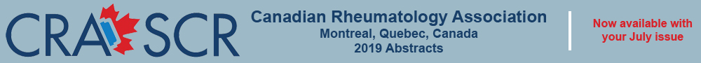 Link to the 2019 Canadian Rheumatology Association abstracts.