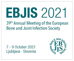 39th Annual Meeting of the European Bond and Joint Infection Society, October 7-0, 2021
